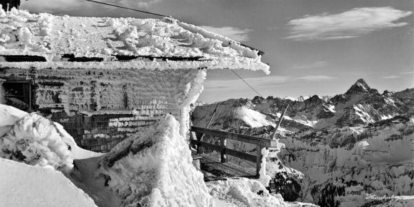 Gipfelhütte am Nebelhorn