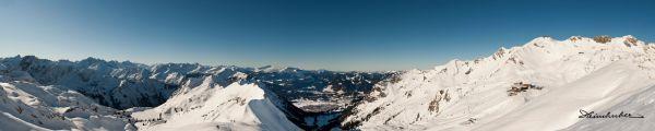 Panorama Seealpsee - Nebelhorn