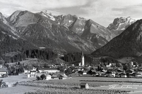 Oberstdorf mit Huinzen