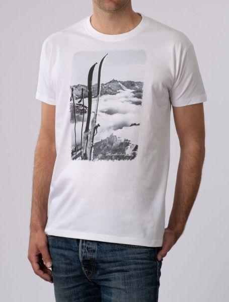 Herren T-Shirt Blick zum Hochvogel