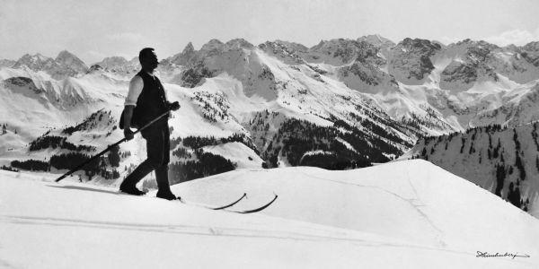 Skitour anno 1905