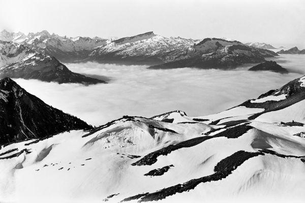 Nebelmeer am Nebelhorn