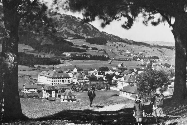 Sonthofen vom Kalvarienberg
