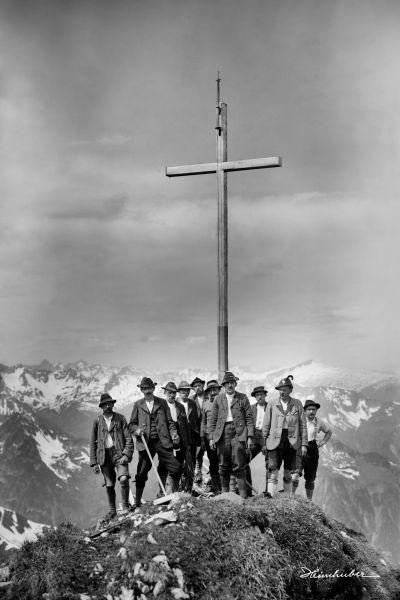 Am Gipfel der Höfats