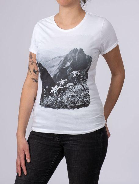 Damen T-Shirt Höfats mit Edelweiß