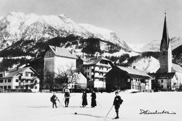 Skiausflug 1903
