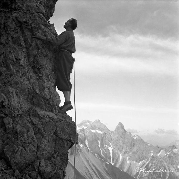 Klettern am Krottenspitzgrat