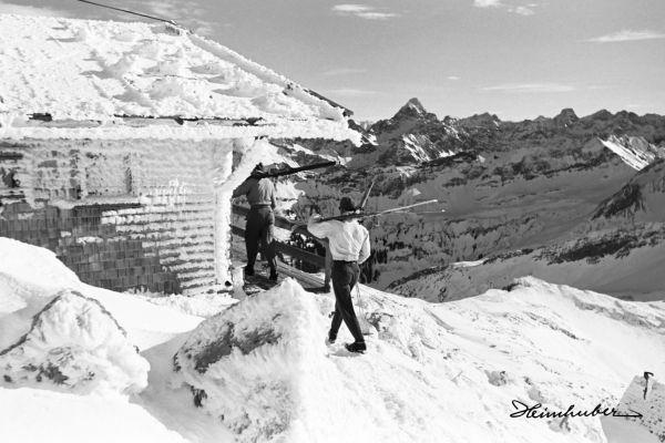 An der Nebelhorn Gipfelhütte