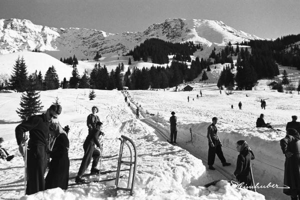 Skifahren am Oberjoch