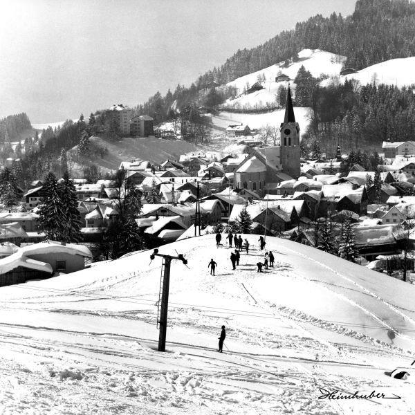 Skilift in Oberstaufen