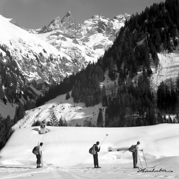 Über der Buchrainer Alpe
