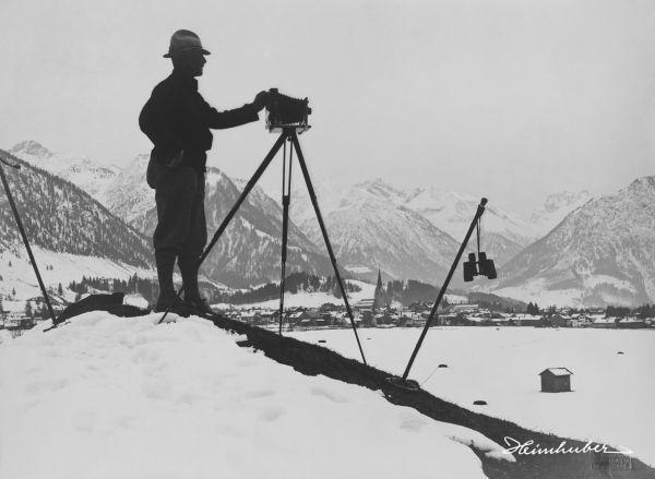 Eugen Heimhuber mit Kamera