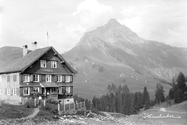 Gaststätte Pfarrhof mit Biberkopf