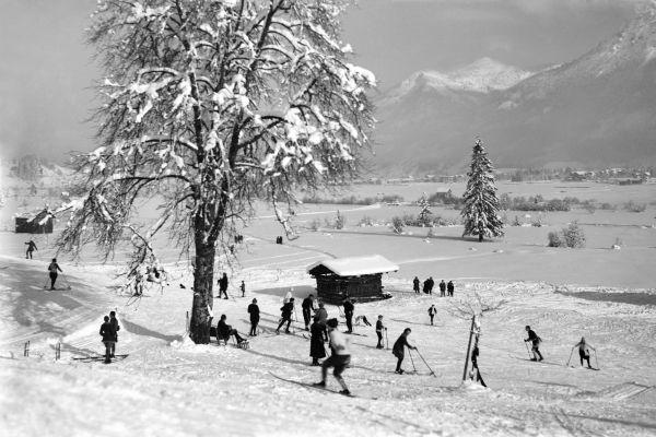 Skifahren am Karatsbichl