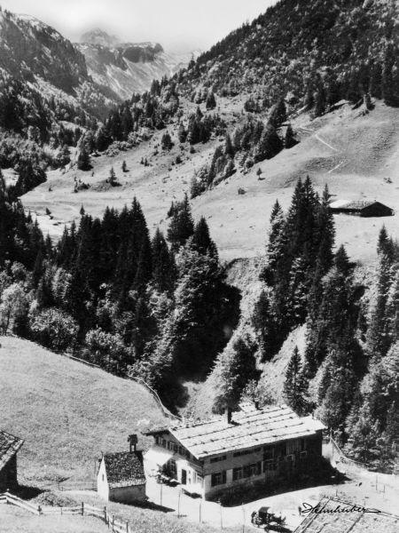 Einödsbach Richtung Süden