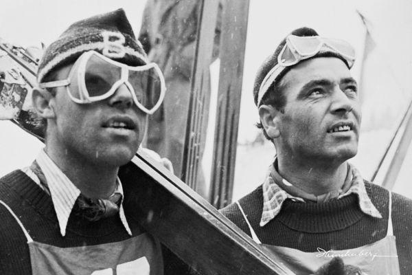Sepp Bradl und Sepp Weiler