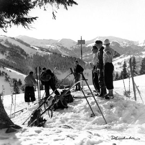 Skitour am Mittag