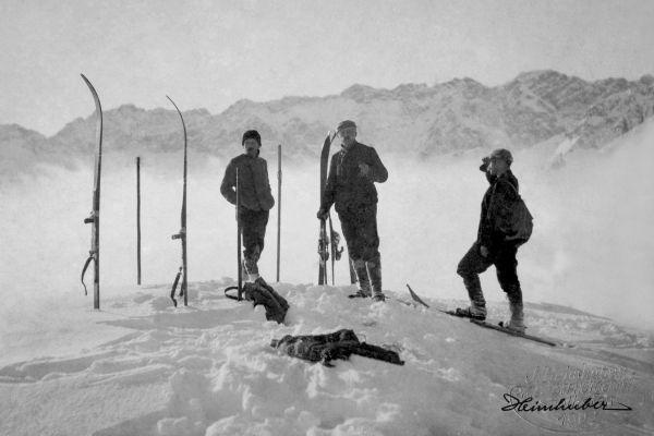 Erste Skitour auf den Sonnenkopf