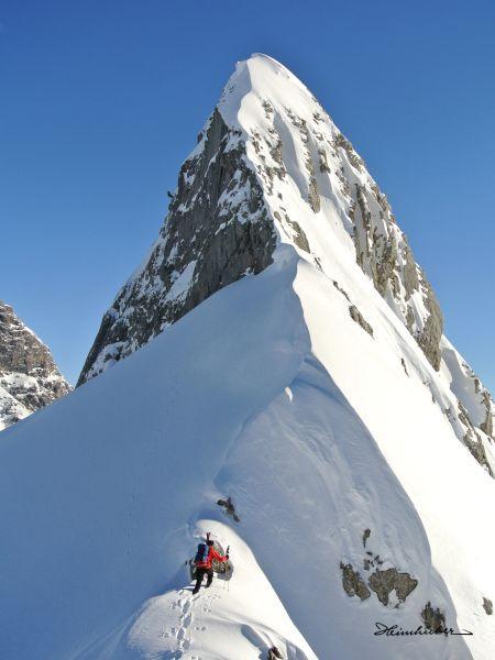Skitour am Weißen Schrofen