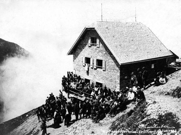 Eröffnung Waltenberger Haus