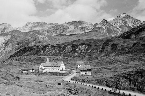 St. Christoph am Arlberg im Sommer 1921