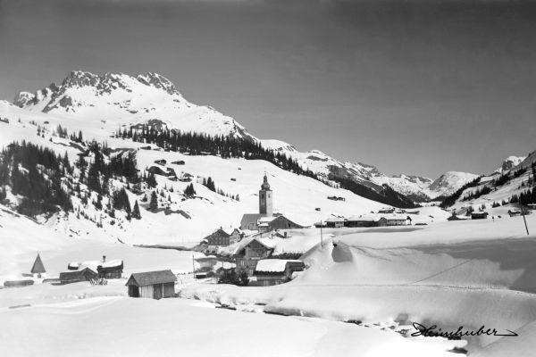 Lech im Winter 1920