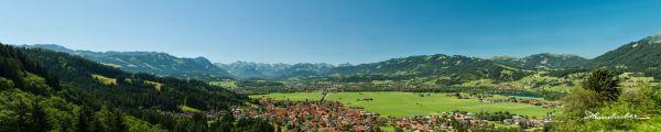 Panorama von Burgberg