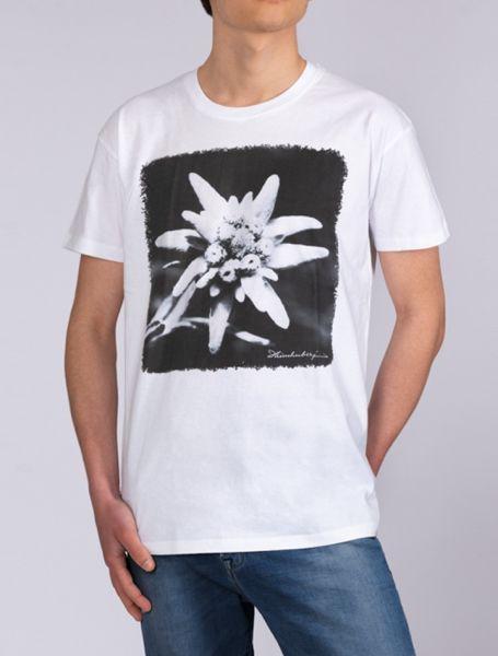 Herren T-Shirt Edelweiß