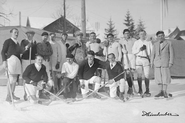 Eishockeymanschaft Oberstdorf, 1929