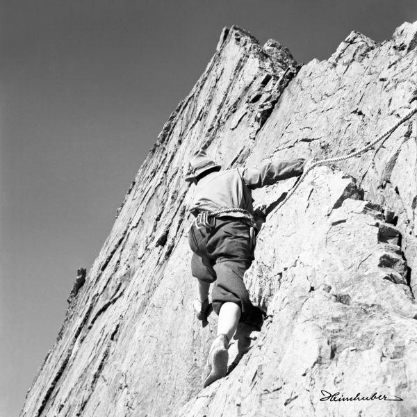 Klettern am Wolfebner