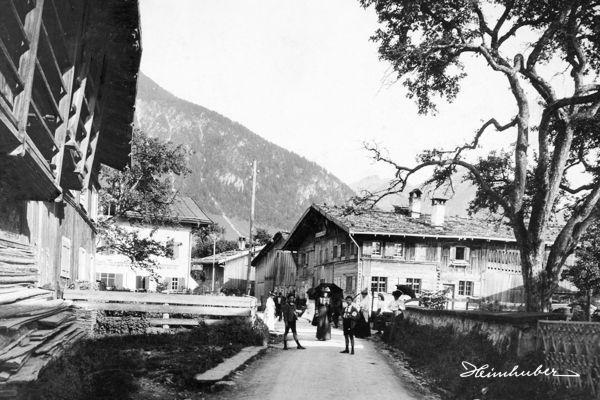 Kurgäste in Altoberstdorf