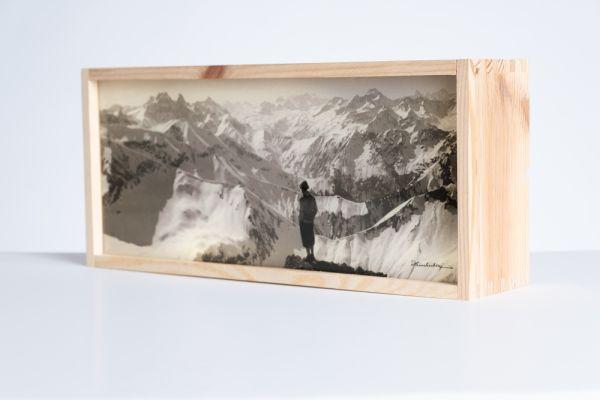 Leuchtbox 'Der Bergblick'