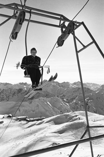 Stilvoll zum Skifahren