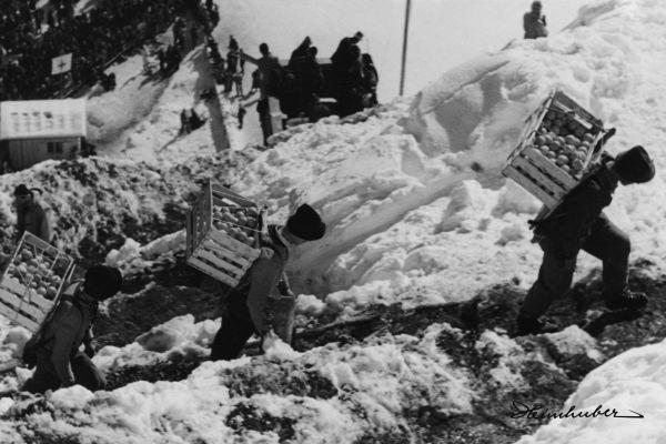 Versorgung bei der Skiflugwoche