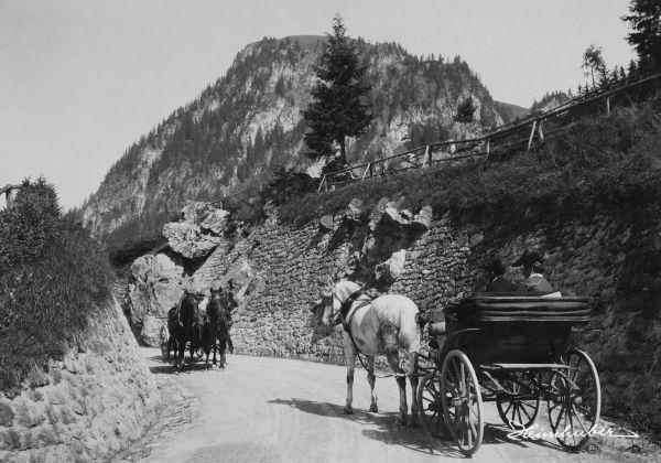 Kutschen am Jochpass