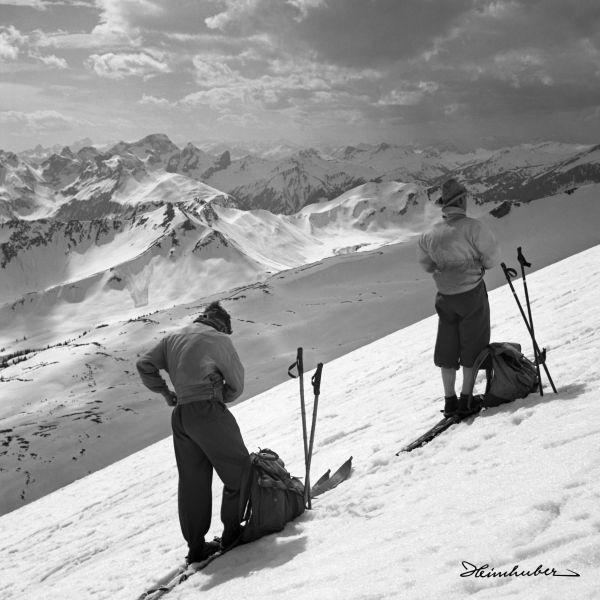 Skitour im Walsertal