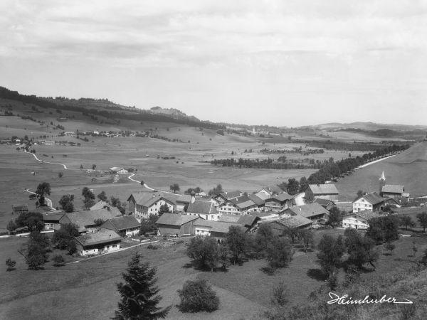 Kranzegg im Allgäu 1905