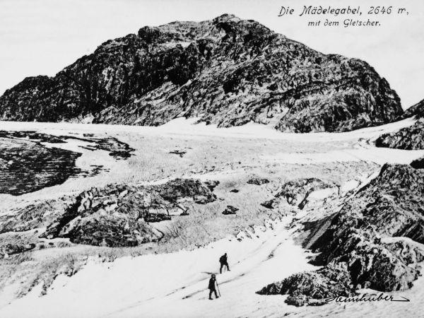 Mädelegabel Gletscher