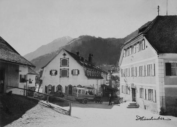 Gasthof zur Adler-Post, Bad Hindelang 1920