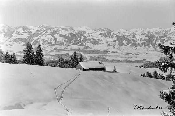 Sonthofer Hof im Winter