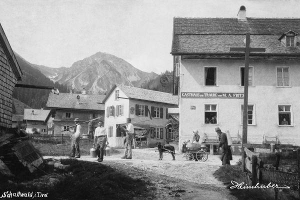 Schattwald in Tirol