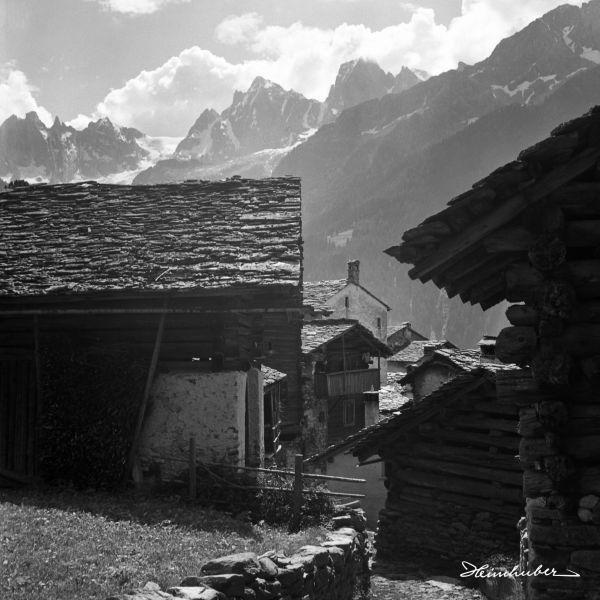 Die Bauernhäuser von Soglio