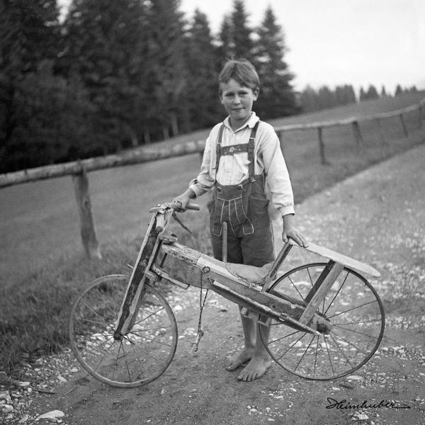 Selbstgebautes Fahrrad
