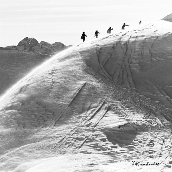 Skitour am Nebelhorn 1949