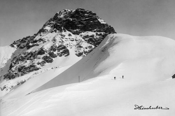 Skitour am Widderstein 1911