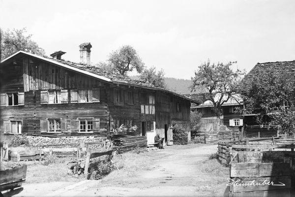 Windgasse, Oberstdorf 1920