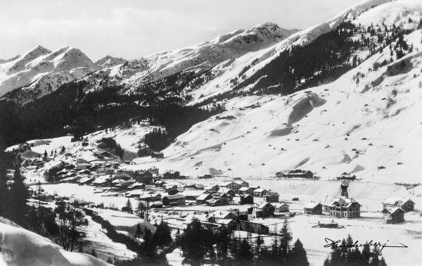 St. Anton im April 1912 II