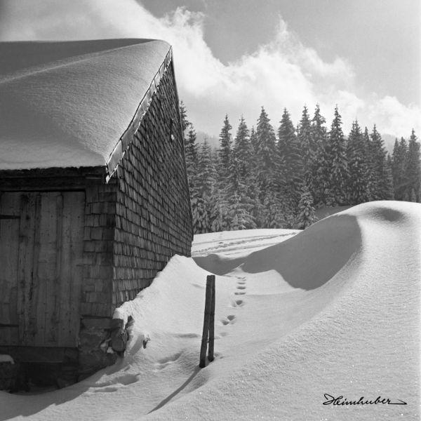 Alpe Blässe im Winter