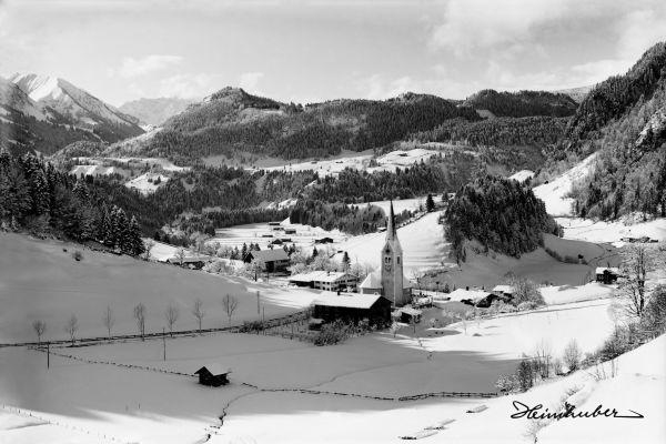 Obertiefenbach im Winter 1928