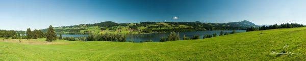 Panorama vom Rottachsee II